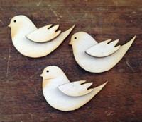 Bird w/Wing med S/3