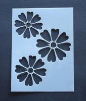 "Flower 3x4"""