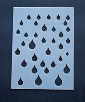 """Rain Drops 3x4"""""""