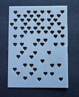 Hearts Mini Missing 3x4""