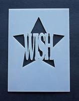 "Wish 3x4"""
