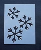 Snow Flakes 3x4'