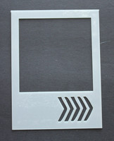 Polariod Chevron 3x4""