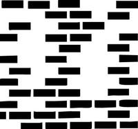 Bricks Missing 6x6