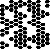 Honey Comb Missing 6x6