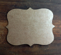 Label Style Chipboard