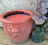 Angel Ceramic Pot-Fresh Floral-Pink