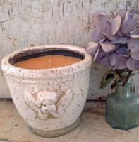 Angel Ceramic Pot-Tahitian Vanilla-White