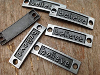 Believe Bracelet Band Charm