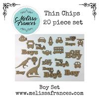 Thin Chips-Boy Set-20 pcs
