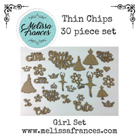 Thin Chips-Girl Set-30 Pcs