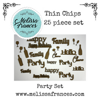 Thin Chips-Party Set-25 pcs
