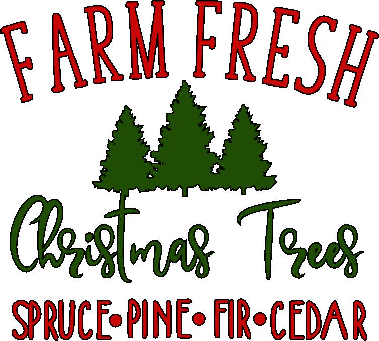 Farm Fresh Christmas Trees.Farm Fresh Christmas Trees