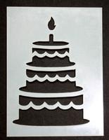 "Birthday Cake 3x4"""
