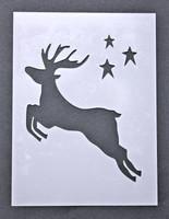 """Jumping Reindeer 3x4"""""""