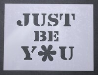 Just Be You 3x4""