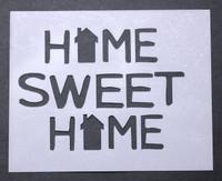 "Home Sweet Home 3x4"""