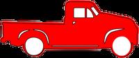 Vintage Truck Stamp