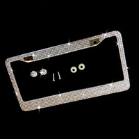Bling License Plate Holder