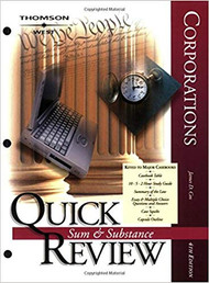 QUICK REVIEW ON CORPORATIONS (4TH, 2004) 9780314152572