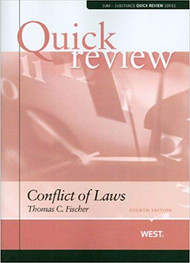 QUICK REVIEW ON CONFLICT OF LAWS (4TH, 2009) 9780314180926