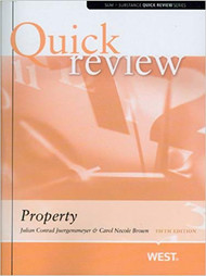 QUICK REVIEW ON PROPERTY (5TH, 2012) 9780314180957