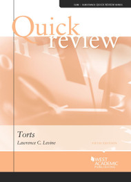 QUICK REVIEW ON TORTS (5TH, 2014) 9780314286406