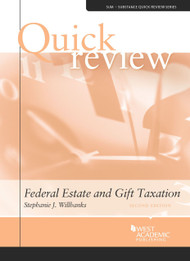 QUICK REVIEW ON FEDERAL ESTATE AND GIFT TAXATION (2ND, 2014) 9780314290212