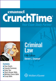 CRUNCHTIME: CRIMINAL LAW (5TH, 2015) 9781454840947