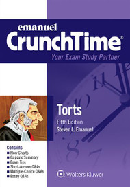 CRUNCHTIME: TORTS (5TH, 2015) 9781454840954