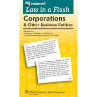 LAW IN A FLASH CARDS: CORPORATIONS (2013) 9781454824954