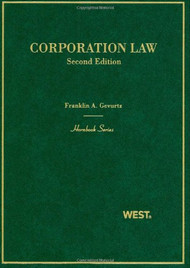 GEVURTZ'S CORPORATION LAW (HORNBOOK SERIES) (2ND, 2010) 9780314159793