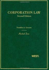GEVURTZ'S CORPORATION LAW (HORNBOOK SERIES) (2ND, 2010) 9780314159793