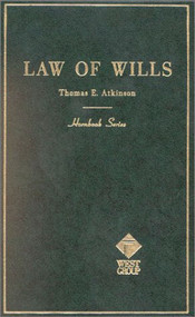 ATKINSON'S WILLS (HORNBOOK SERIES) (2ND,1953) 9780314283337