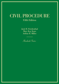 FRIEDENTHAL'S CIVIL PROCEDURE (HORNBOOK SERIES) (5TH, 2015) 9780314290380