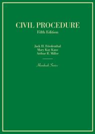 FRIEDENTHAL'S CIVIL PROCEDURE (HORNBOOK SERIES) (5TH, 2015) 9780314290380