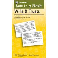 LAW IN A FLASH CARDS: WILLS & TRUSTS (2013) 9781454824947