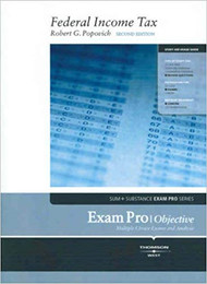 EXAM PRO ON FEDERAL INCOME TAX (2ND, 2007) 9780314180698