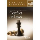PRINCIPLES OF CONFLICT OF LAWS (CONCISE HORNBOOK SERIES) (2ND, 2015) 9780314286420