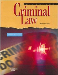 BLACK LETTER OUTLINE ON CRIMINAL LAW (3RD, 2007) 9780314180575
