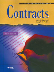 BLACK LETTER OUTLINE ON CONTRACTS (5TH, 2010) 9780314926937