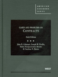 CALAMARI'S CASES AND PROBLEMS ON CONTRACTS O/E (6TH, 2011) 9780314202857
