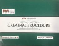 BAR SECRETS: CRIMINAL PROCEDURE (OUTLINE) 9781933089218