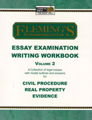FLEMING'S ESSAY EXAMINATION WRITING WORKBOOK VOL. 2 (2005) 9781932440478