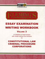 FLEMING'S ESSAY EXAMINATION WRITING WORKBOOK VOL. 3 (2005) 9781932440485