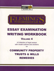 FLEMING'S ESSAY EXAMINATION WRITING WORKBOOK VOL. 4 (2005) 9781932440492