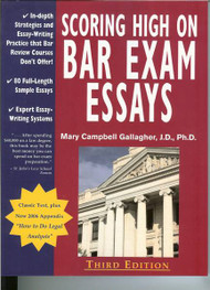 GALLAGHER'S SCORING HIGH ON BAR EXAM ESSAYS