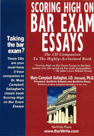GALLAGHER'S SCORING HIGH ON BAR EXAM ESSAYS CD COMPANION TO THE BOOK