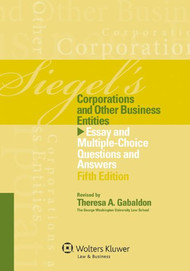 SIEGEL'S: CORPORATIONS (5TH, 2012)