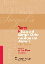 SIEGEL'S: TORTS (2012)